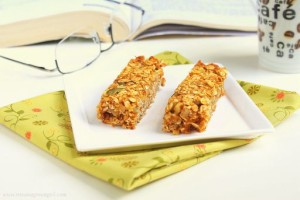 Granola Pumpkin Bars