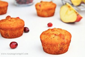 Cranberry Apple Muffins