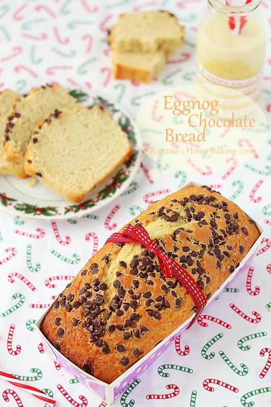 Eggnog chocolate bread | roxanashomebaking,.com