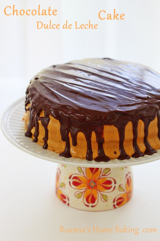 Chocolate Layer Cake with Dulce de Leche Frosting