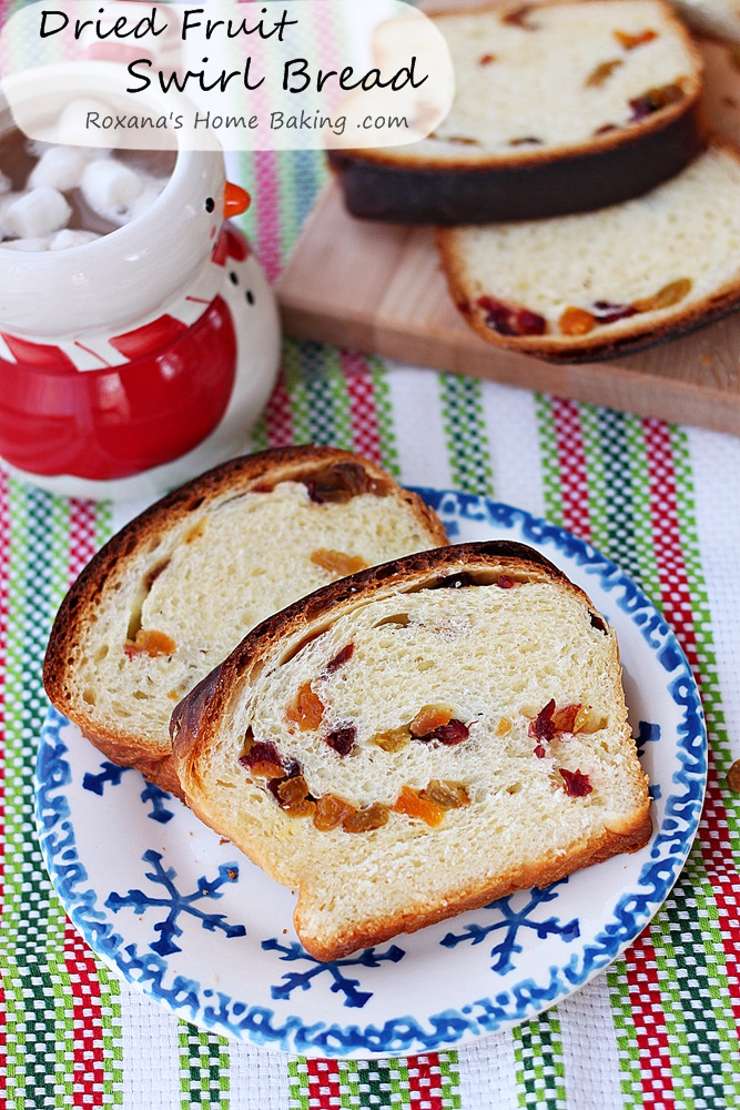 Dried Fruit Swirl Bread Recipe Roxanashomebaking 2