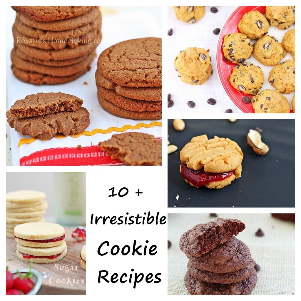 10+ Irresistible Cookie Recipes from Roxanashomebaking.com