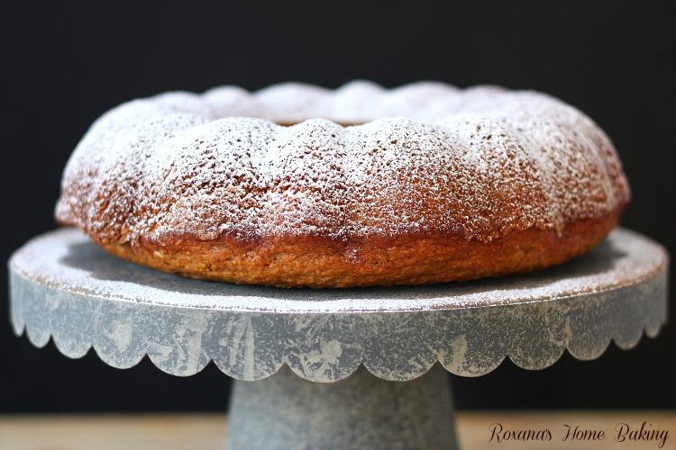 Ricotta carrot bundt cake