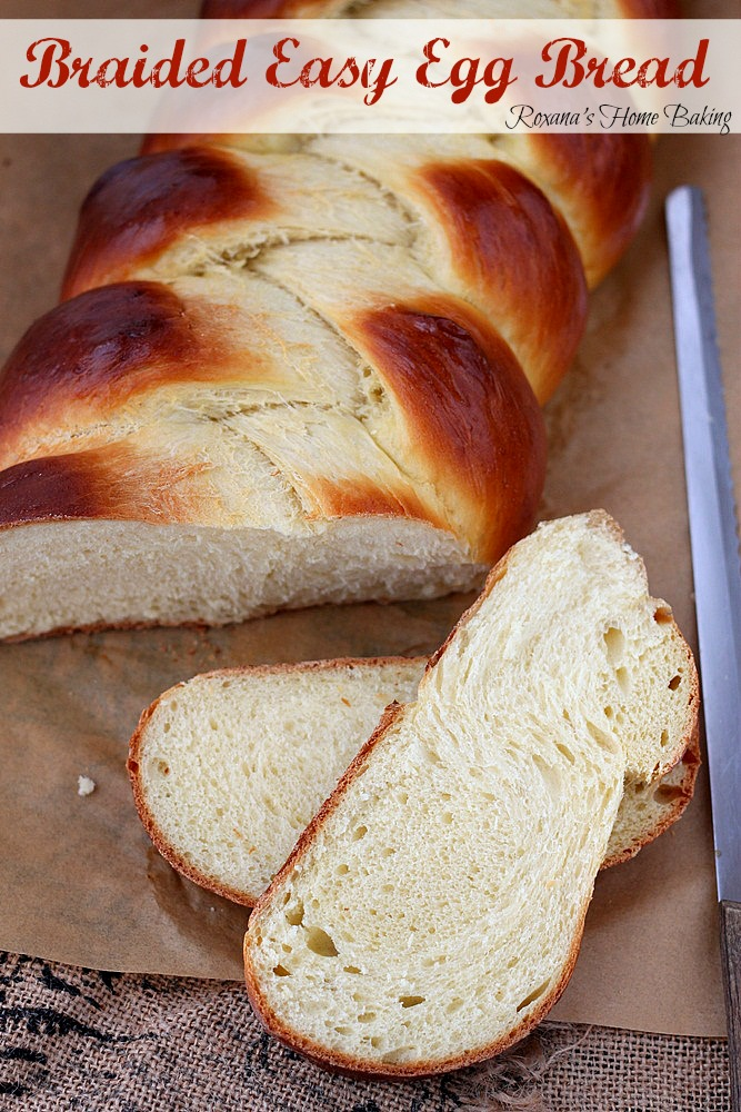 Pillow-y soft, tender and delicate, enriched with both eggs and butter this braided egg bread is so easy to make it will soon become your go-to recipe. Oh, and it's perfect for french toast or bread pudding!