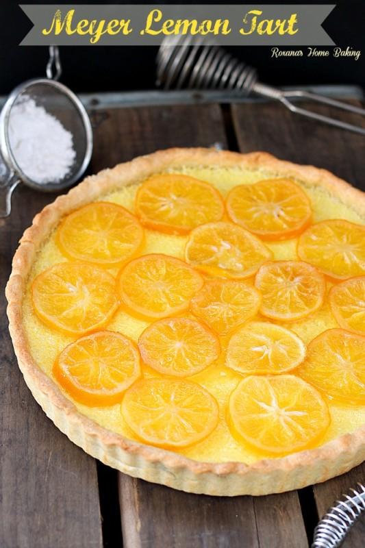 meyer lemon tart recipe 1