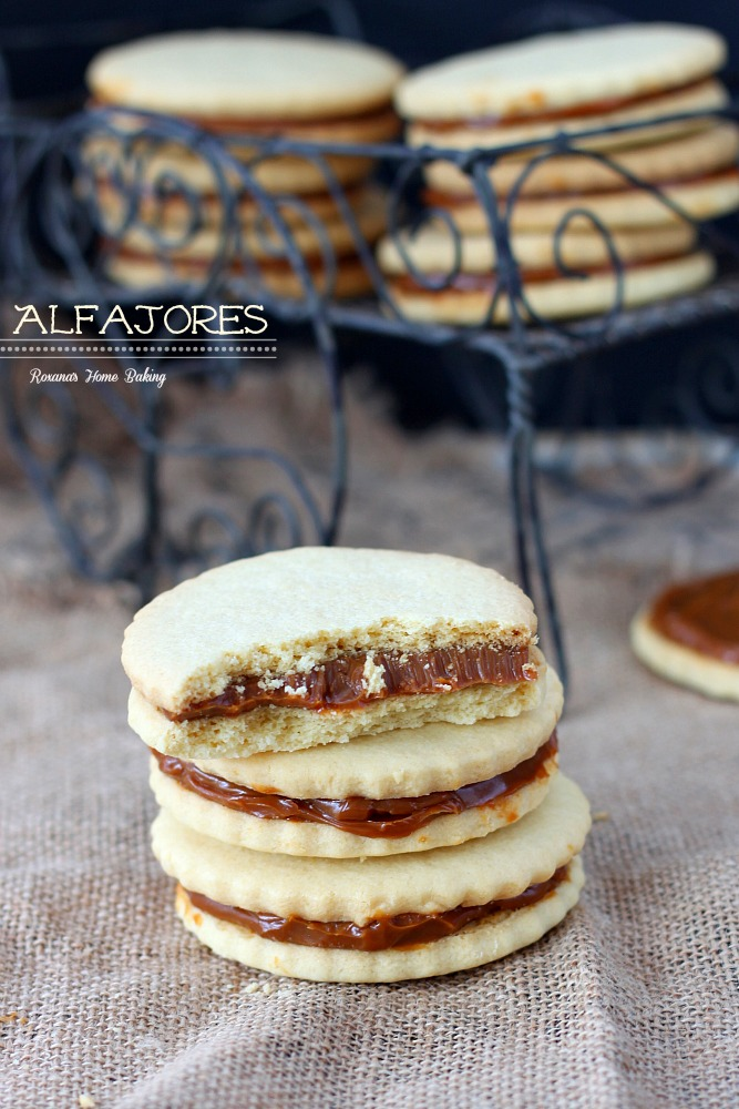 as dulce de leche sandwich cookies, are traditional shortbread cookies ...