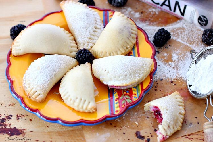 Berry sweet empanadas recipe