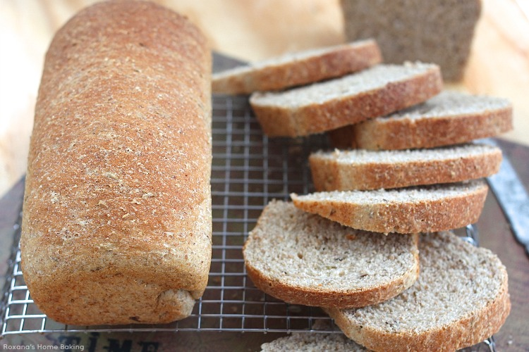 soft crust and filled with caraway and dill seeds, this egg free rye ...