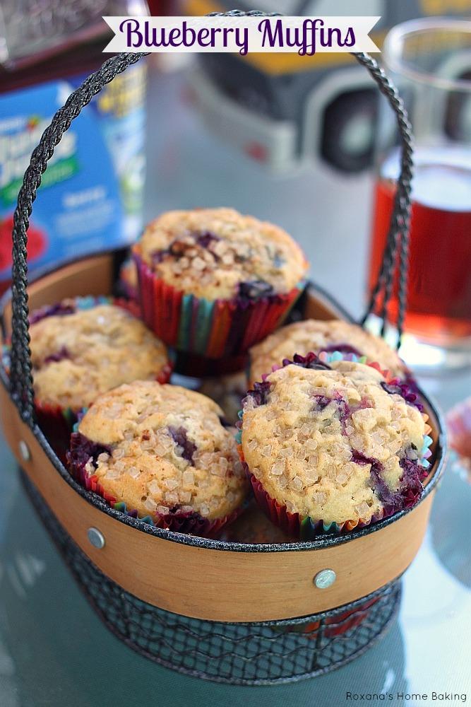 blueberry muffins recipe 2