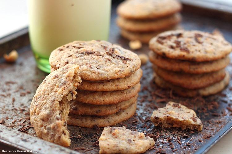 Peanut chocolate cookies recipe