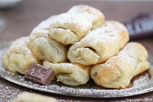 Foolproof chocolate rolls