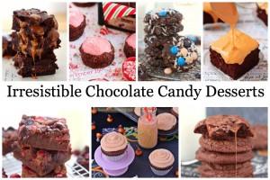Irresistible Chocolate Candy Desserts