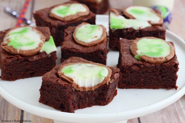 Screme cadbury brownies recipe