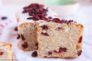 Coconut dried fruit bread