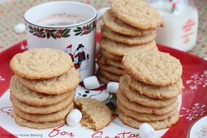 Chewy coconut peanut butter cookies
