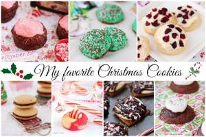 My favorite Christmas cookies