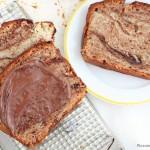 Nutella swirl banana bread recipe