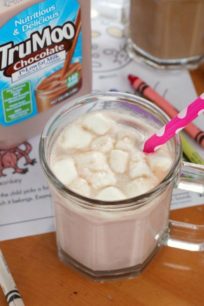 TruMoo hot chocolate 1
