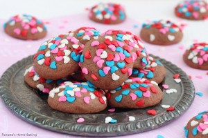 Chocolate cream cheese soft cookies