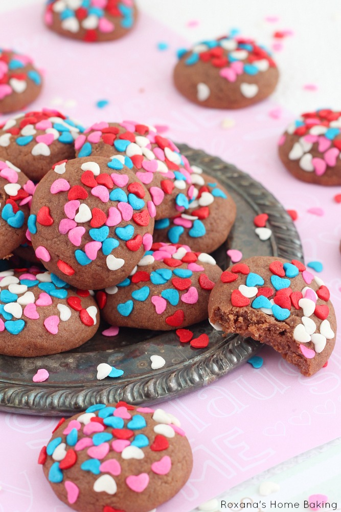 Chocolate cream cheese soft cookies