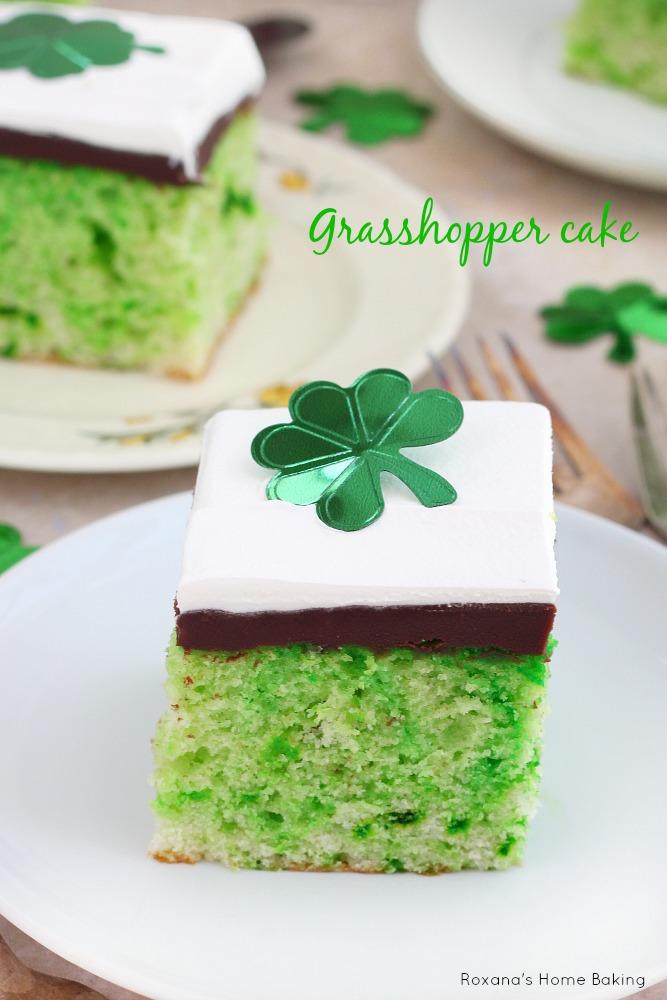 Grasshopper cake