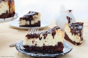 Irish cream cookie dough cheesecake