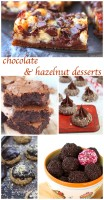 50 chocolate and hazelnut desserts