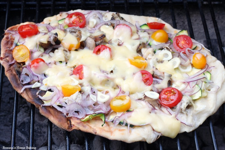 Grilled pizza + cheese pizza dough recipe