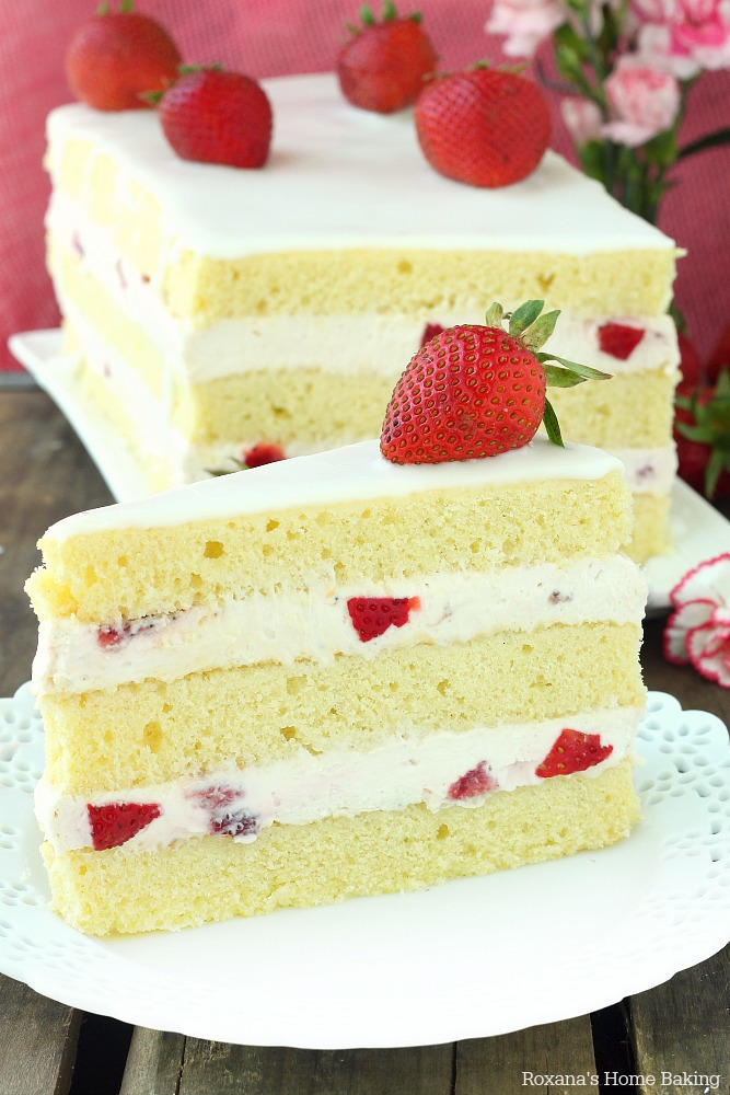 strawberry shortcake cake recipe 1