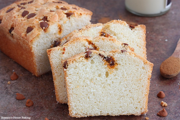 Cinnamon loaf cake recipe
