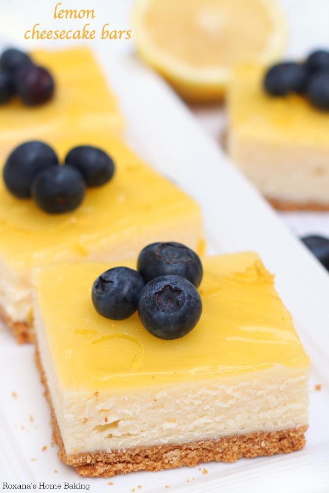 lemon cheesecake bars recipe 1