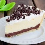 chocolate and vanilla pudding pie recipe
