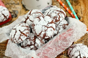 Chocolate snowball cookies recipe
