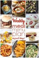 Weekly meal plan – week 9