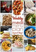 Weekly meal plan – week 11