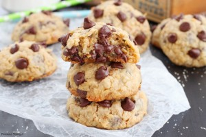 Loaded chocolate chip cookies recipe