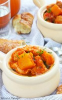 One pot pumpkin pork stew recipe