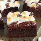 Smore brownies