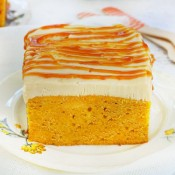 Pumpkin poke cake recipe