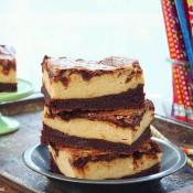 Peanut butter cheesecake brownies recipe