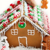 Gingerbread house recipe with step by step photos